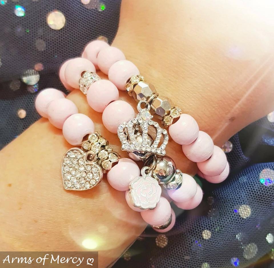 Unique Pink Bracelets © Arms of Mercy NPC