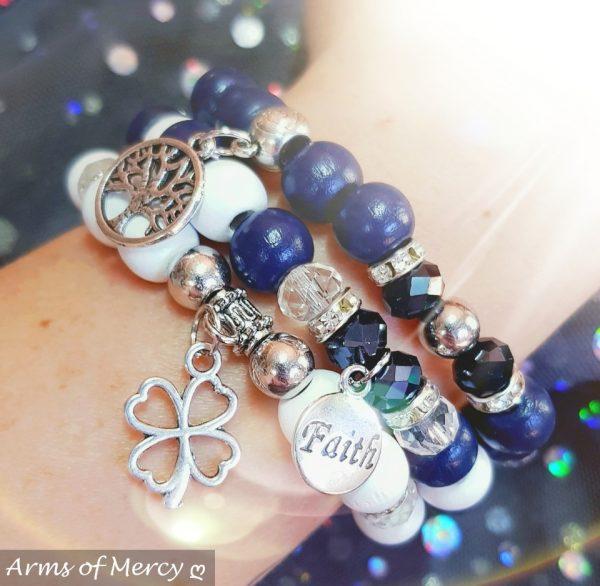 Unstoppable Bracelets © Arms of Mercy NPC