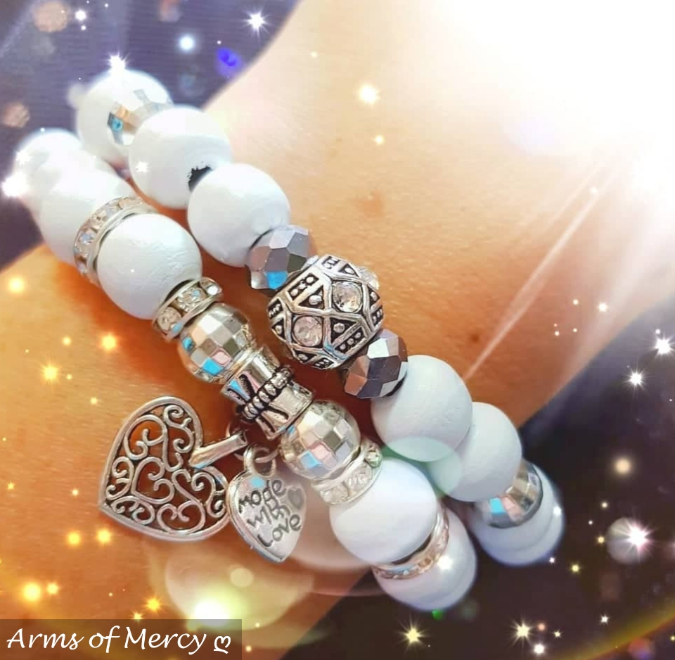 Timeless Bracelet Collection (White) © Arms of Mercy NPC