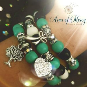 Be A Warrior Bracelets © Arms of Mercy NPC