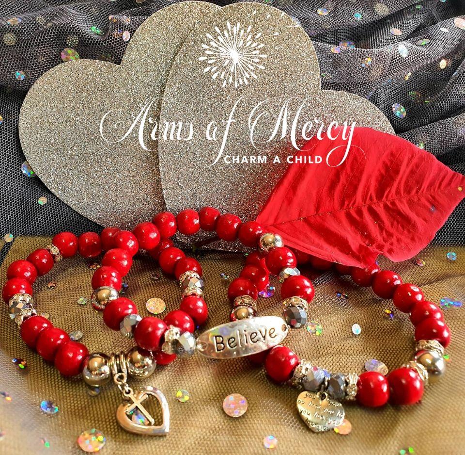 Believe in Love Bracelets © Arms of Mercy NPC
