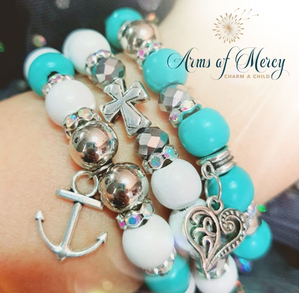 Follow Your Heart Bracelets © Arms of Mercy NPC