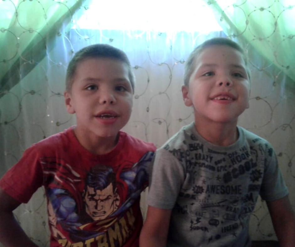 Johan and Daniel Blignaut – Cerebral Palsy