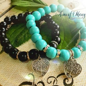 Let Love Grow Bracelets © Arms of Mercy NPC