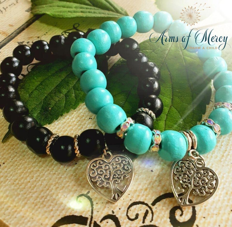 Let Love Grow Bracelets © Arms of Mercy NPC