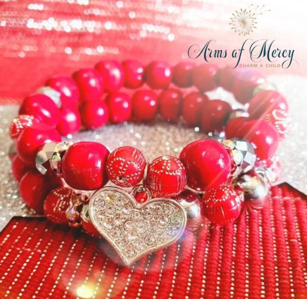 Love You Most Bracelets - Valentines Day Edition © Arms of Mercy NPC
