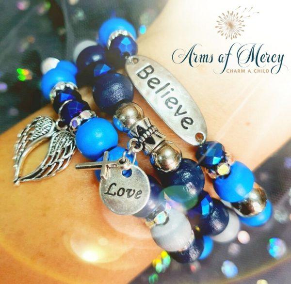 Stay Confident Bracelets © Arms of Mercy NPC