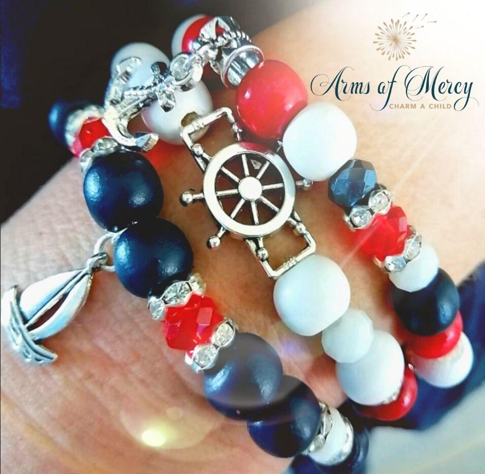 Little Sailor Bracelets © Arms of Mercy NPC