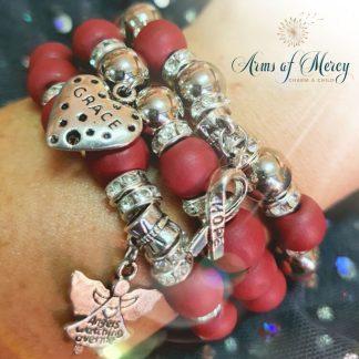 Multiple Myeloma Cancer Awareness Bracelets © Arms of Mercy NPC