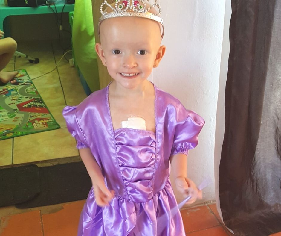 Fundraising for Rene-lily Gaskell – Stage III High Risk Neuroblastoma Cancer