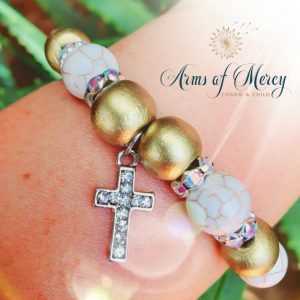WCCD Bracelet - World Childhood Cancer Day Bracelet © Arms of Mercy NPC