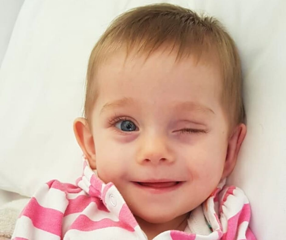 Fundraising for Bea Jordaan – Bilateral Retinoblastoma