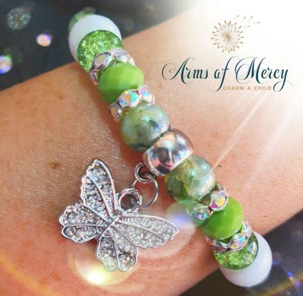Cerebral Palsy Awareness Bracelet © Arms of Mercy NPC