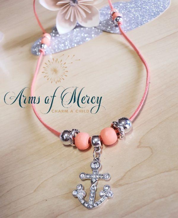 Diamanté Anchor Necklace © Arms of Mercy NPC