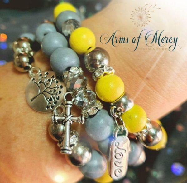 Silver Lining Bracelets © Arms of Mercy NPC
