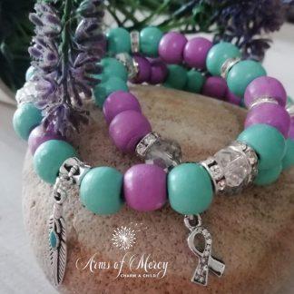 Suicide Awareness Bracelets © Arms of Mercy NPC