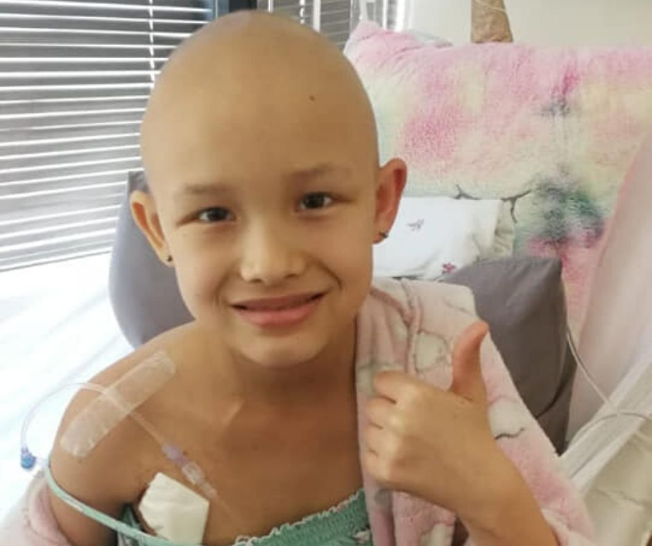 Fundraising for Mila Koekemoer – Stage III Neuroblastoma Cancer