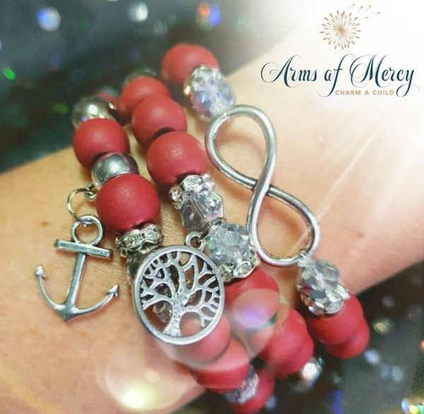 67 Days for Anja Lessing - Bracelets © Arms of Mercy NPC