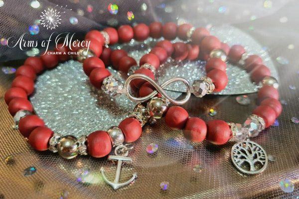 Survivor Bracelets for Anja Lessing © Arms of Mercy NPC