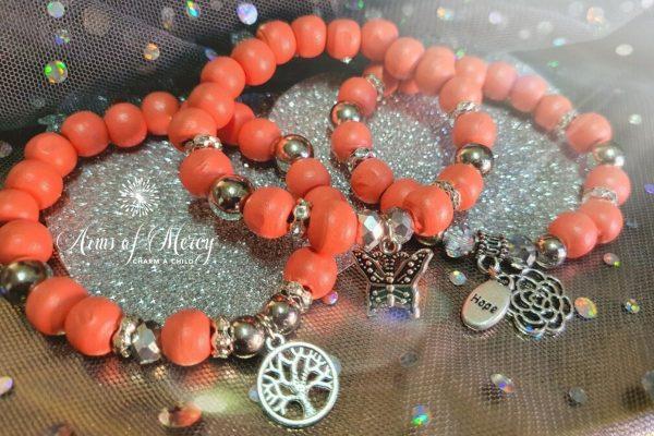 Survivor Bracelets for Lindsay Pistorius © Arms of Mercy NPC