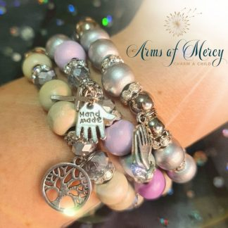 Choose Life Bracelet Set © Arms of Mercy NPC
