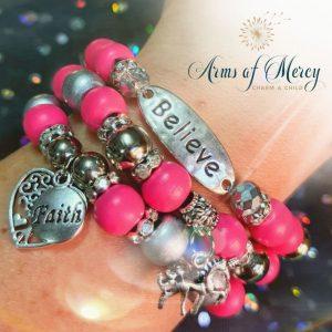 Sparkle Brightly Bracelets © Arms of Mercy NPC