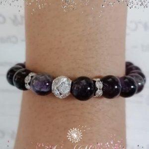 Amethyst Beads Bracelet © Arms of Mercy NPC