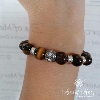 Tiger Eye Beads Bracelet © Arms of Mercy NP