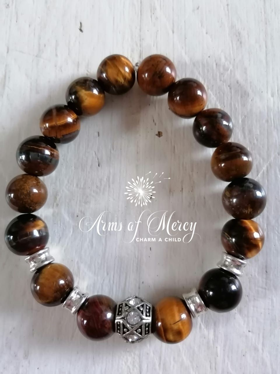 Tiger Eye Beads Bracelet © Arms of Mercy NP