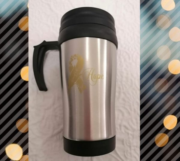 400ml Stainless Steel Travel Mug - Hope Collection© Arms of Mercy NPC