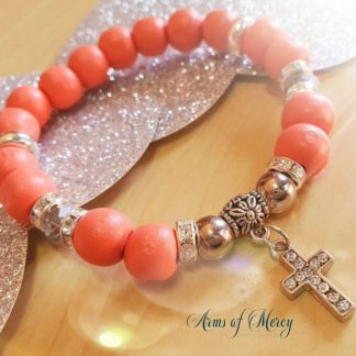 Kidney Cancer Awareness Bracelet © Arms of Mercy NPC