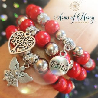 With All My Heart Bracelets © Arms of Mercy NPC
