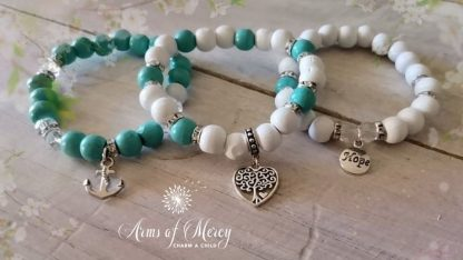 Anchored in Love Bracelets © Arms of Mercy NPC