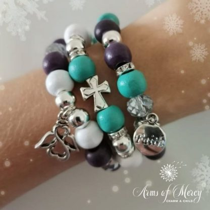 Believe in Angels Bracelets © Arms of Mercy NPC