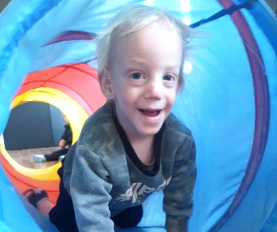 Fundraising for Blake Griesel – Spastic Tetraplegia Cerebral Palsy with Strabismus