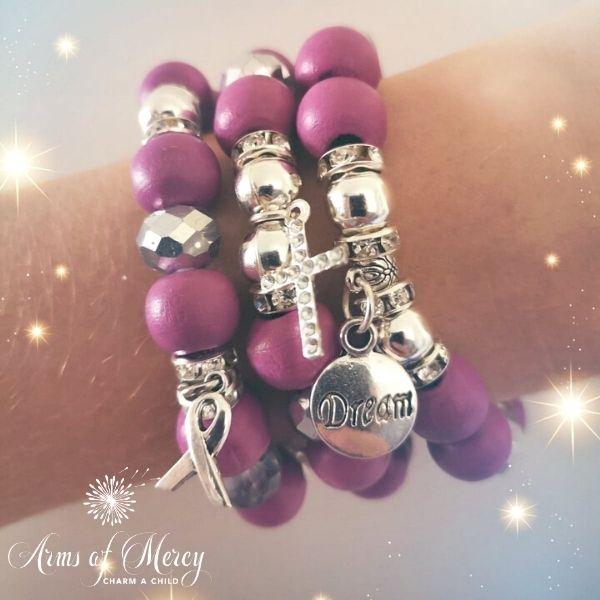 Dare to Dream Bracelets © Arms of Mercy NPC