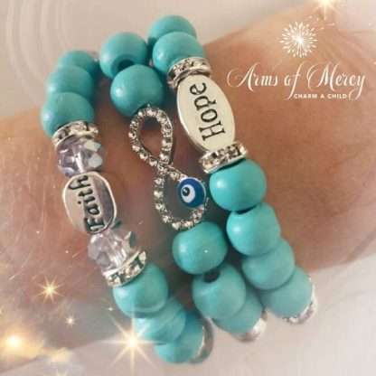 Forever in Faith Bracelets © Arms of Mercy NPC