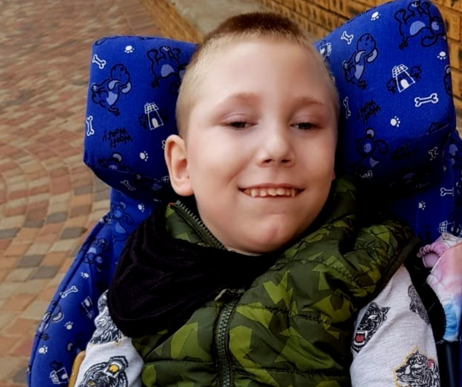Fundraising for Marius Ferreira – Cerebral Palsy and Microcephaly