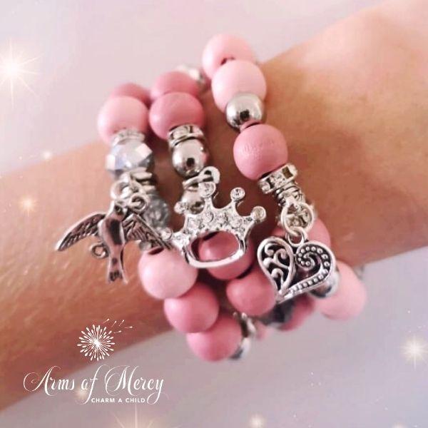 Princess of My Heart Bracelets © Arms of Mercy NPC