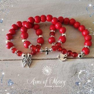 Covid Awareness Bracelets - Ladies © Arms of Mercy NPC