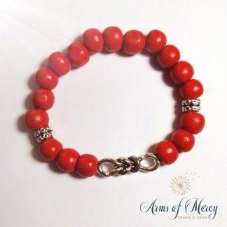 Covid Awareness Bracelets - Men`s © Arms of Mercy NPC