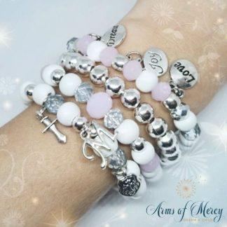 God`s Warrior Princess Bracelets © Arms of Mercy NPC