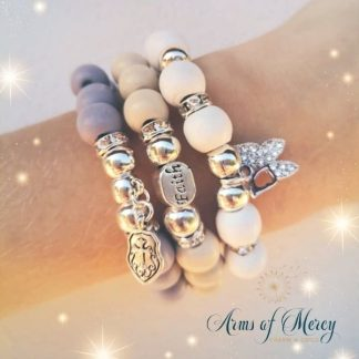 Life is a Gift Bracelets © Arms of Mercy NPC