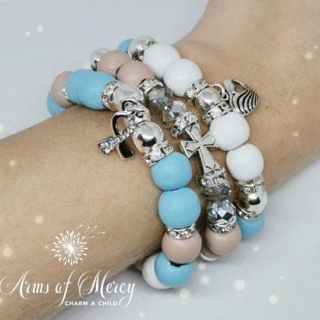 Brave Heart Bracelets © Arms of Mercy NPC